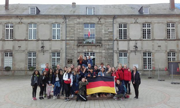 Séjour des correspondants allemands - du 10 au 15 juin 2018