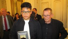 Un élève de Sainte Anne reçoit un prix d'histoire