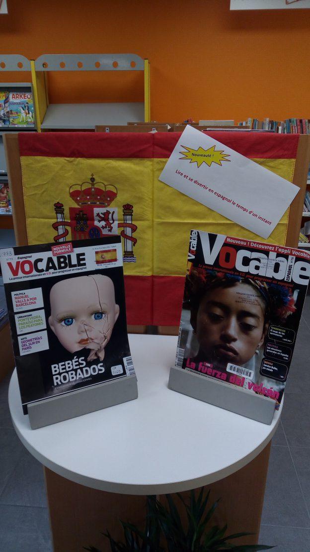 Lire et se divertir en espagnol le temps d'un instant c'est désormais possible au collège Sainte-Anne.