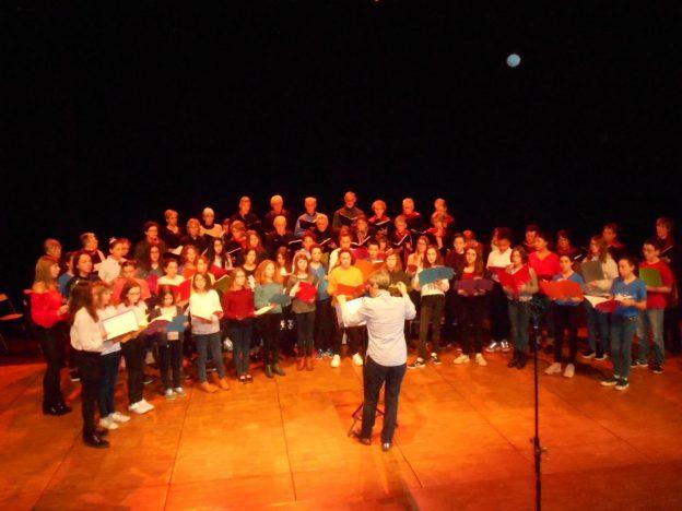 La chorale du collège en concert avec Alauda